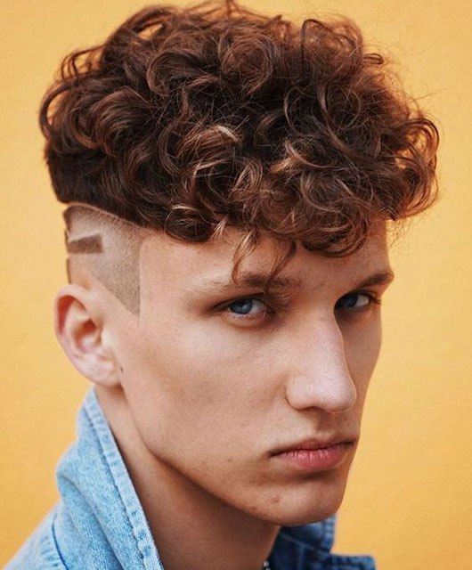 Curly Hairstyle Undercut Best Collection Curly Undercut: 30 Modern Curly Hair Undercut for Men