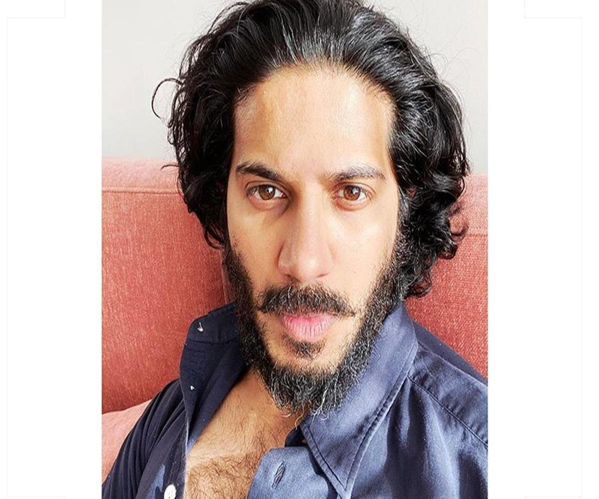 dulquer salmaan s curls and beard picture goes viral