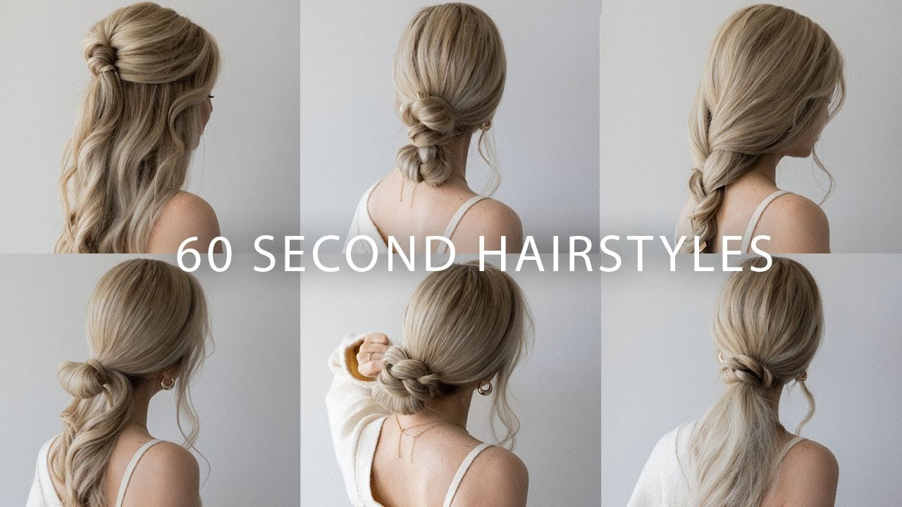 Easy and Simple Hairstyle for Long Hair Inspirational 6 Quick & Easy Hairstyles Cute Long Hair Hairstyles