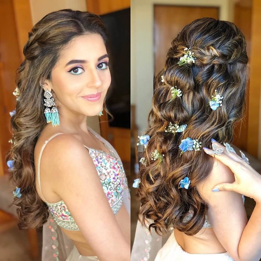 engagement hairstyles for indian bridesml