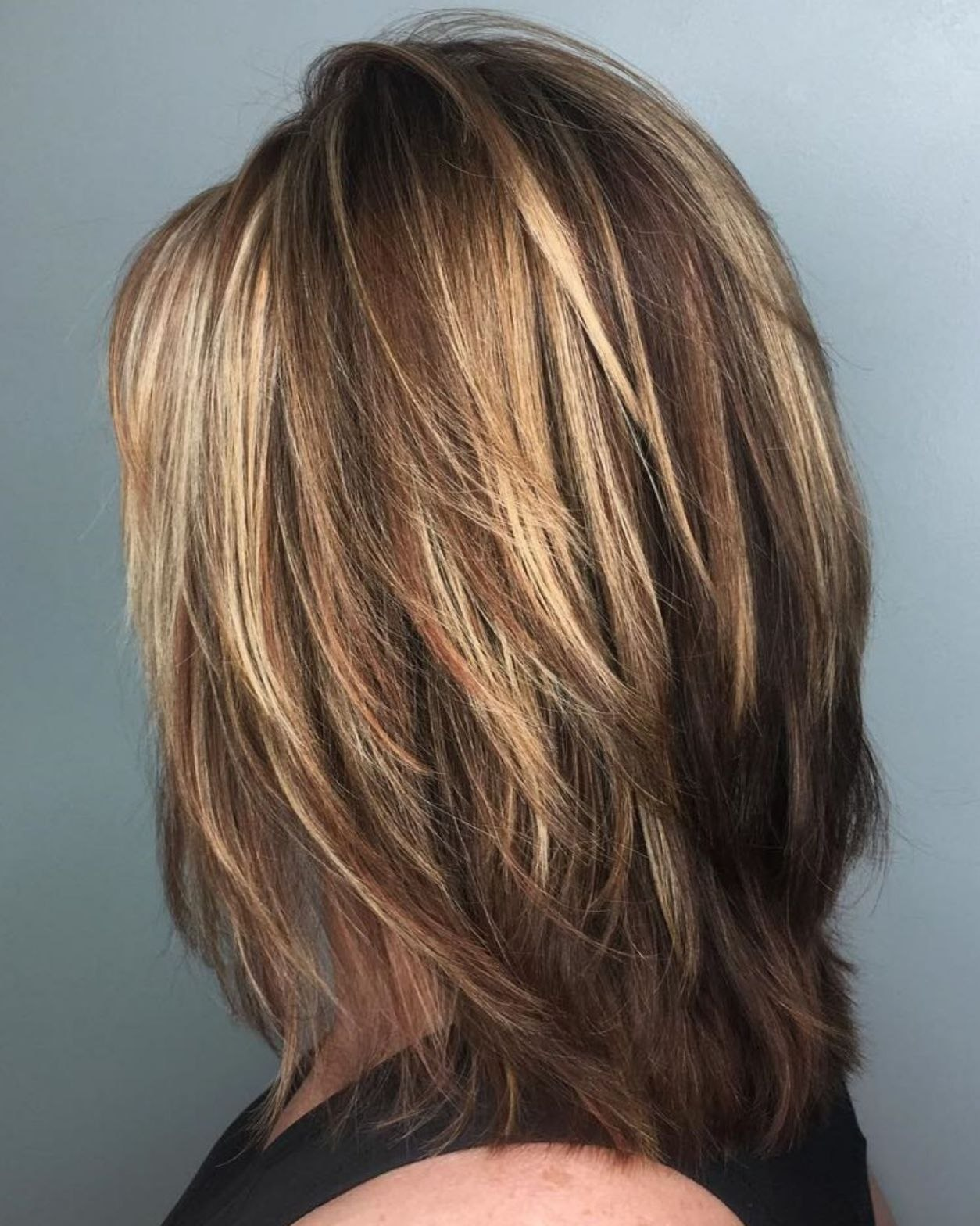 Feathered Layered Medium Hairstyle Elegant 70 Brightest Medium Layered Haircuts To Light You Up Hair … Of Best Of Feathered Layered Medium Hairstyle