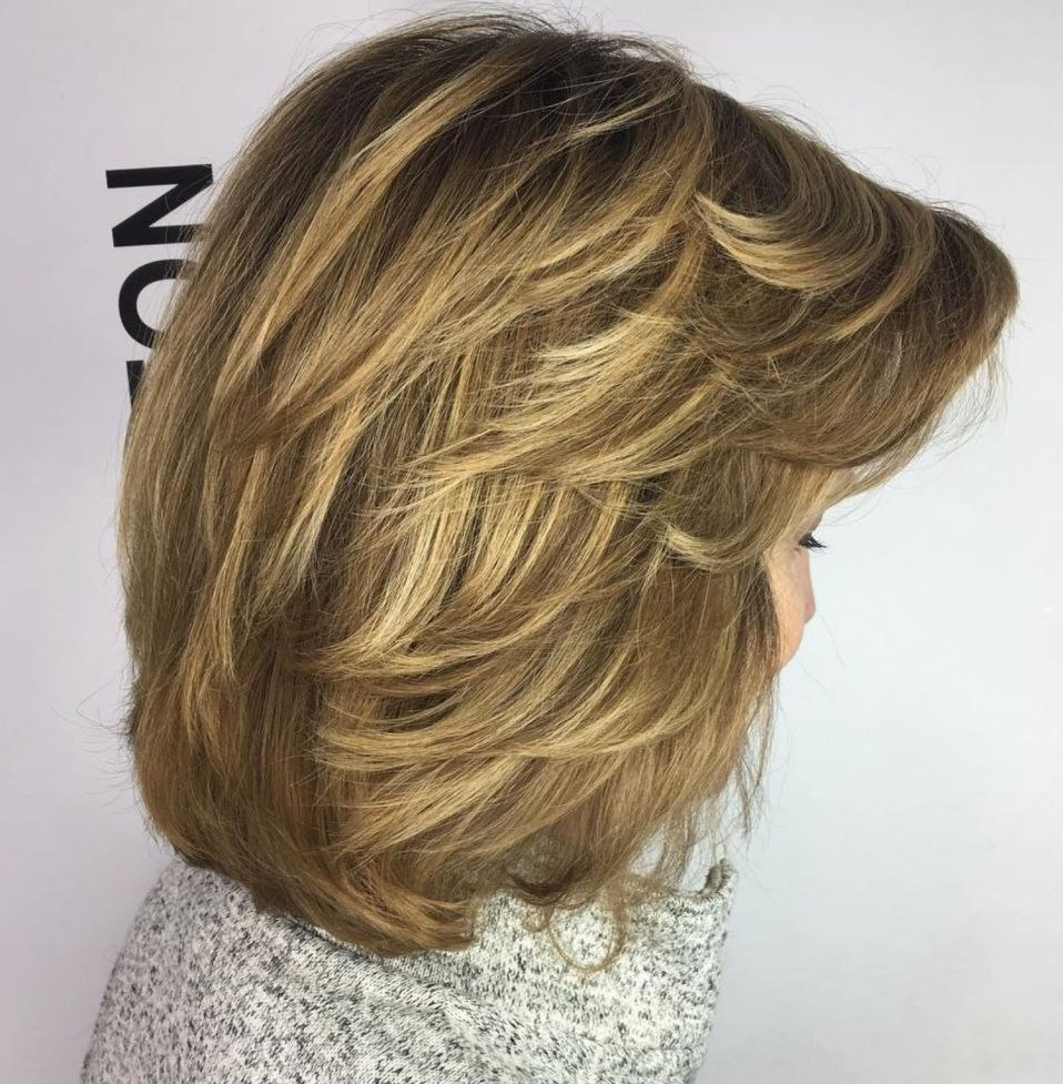 Feathered Layered Medium Hairstyle Lovely Pin On Health And Beauty Of Best Of Feathered Layered Medium Hairstyle