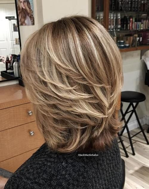 Feathered Layered Medium Hairstyle New Pin On Fall Of Best Of Feathered Layered Medium Hairstyle