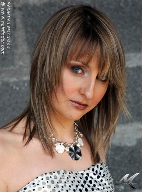 Feathered Layered Medium Hairstyle New Pin On Hairstyles Of Best Of Feathered Layered Medium Hairstyle