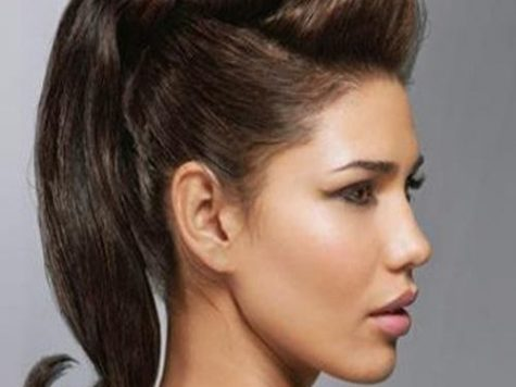 Female Pompadour Hairstyle for Long Hair Best Collection Long Hairstyles Pompadour Hairstyle, Long Hair Styles, Vintage ...