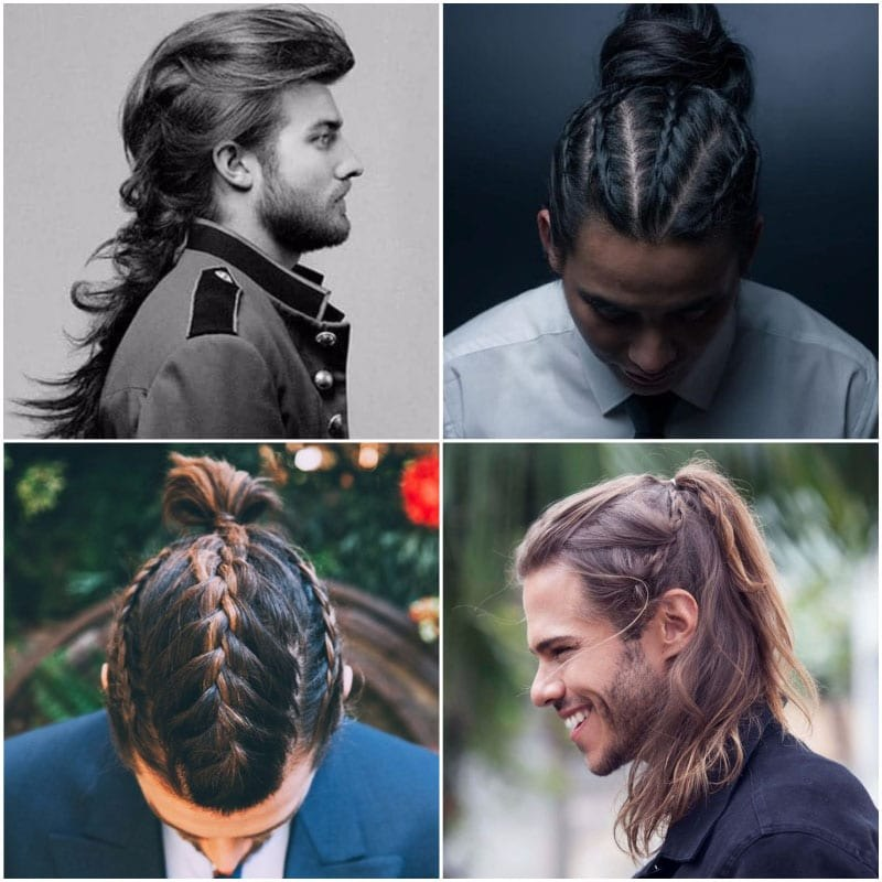 6 hot hairstyles for men with long hair