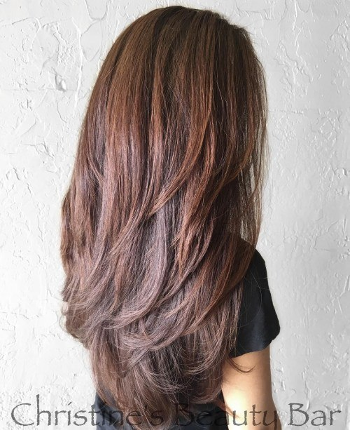 15 most fantastic trendy layered hairstyles for long hai