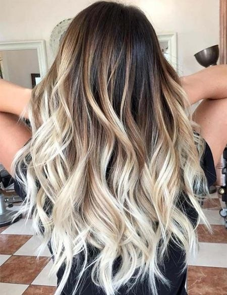 Long Hairstyle Colors the Best Evergreen Balayage Hair Colors for Long Hairstyles Fashionsfield ...