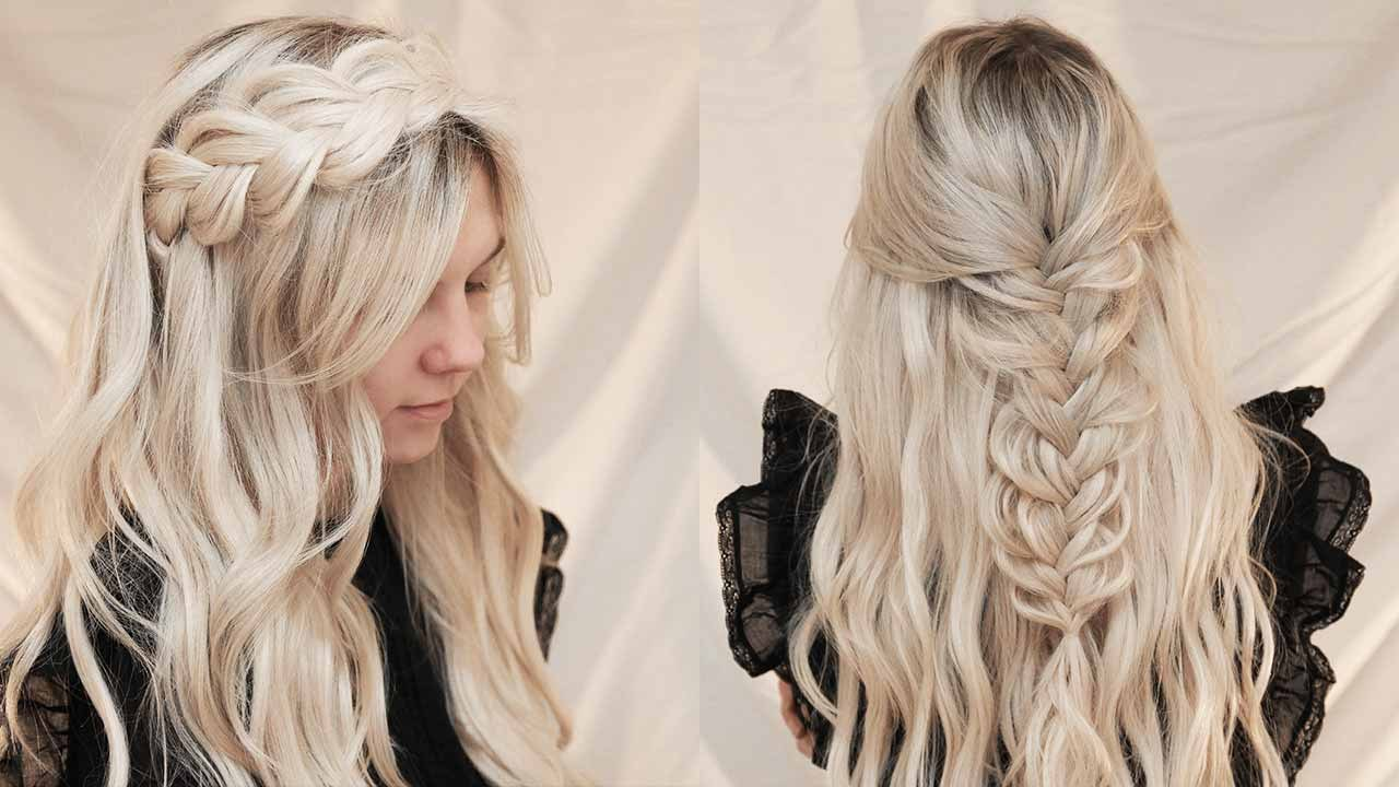 hairstyles with halo hair extensions