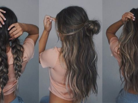 Long Hairstyle Extension Elegant Easy Hairstyles with Extensions / Bellami Unboxing Hair ...