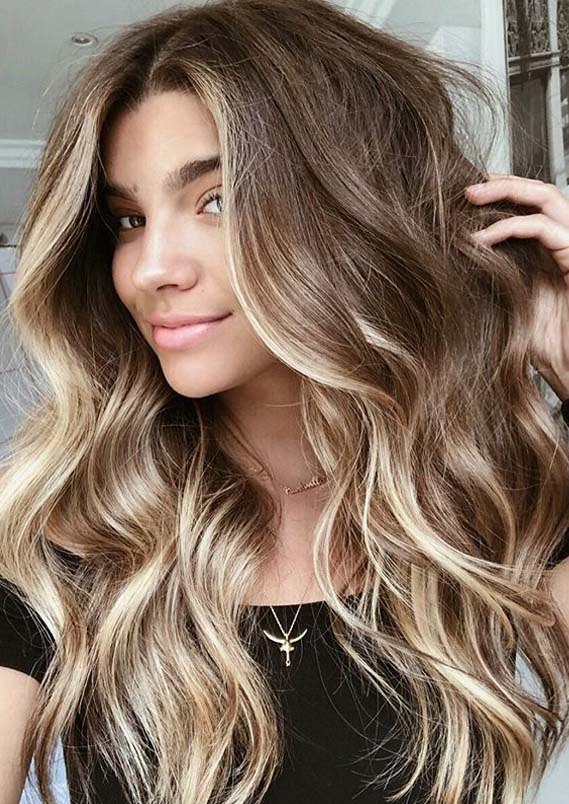 long hairstyles and hair colors ideasml