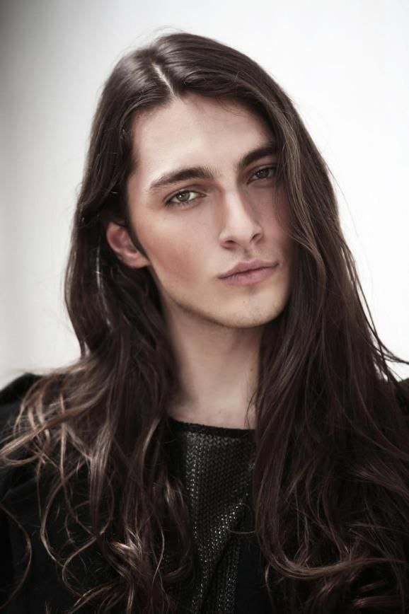 Long Hairstyle Model Inspirational Brasilianisches Männliches Model Gabriel Bin (jungs, Lange Haare … Of The Best Long Hairstyle Model