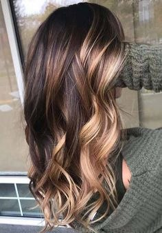 trendy hairstyles color