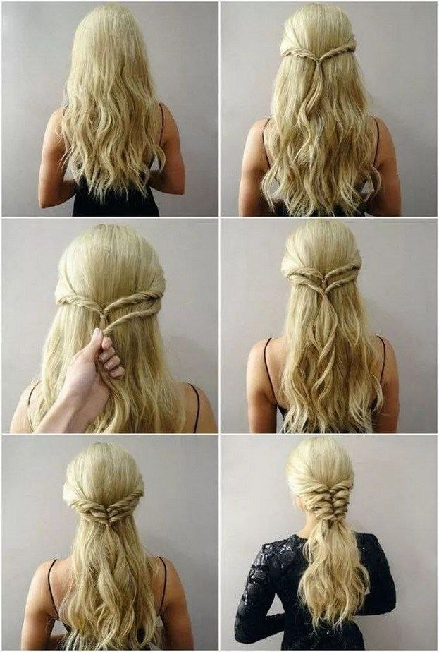 New Easy Hairstyle For Long Hair Inspirational 6 Long Hairstyle Who Just Need 5 Minute #longhairstyle … Of The Best New Easy Hairstyle for Long Hair