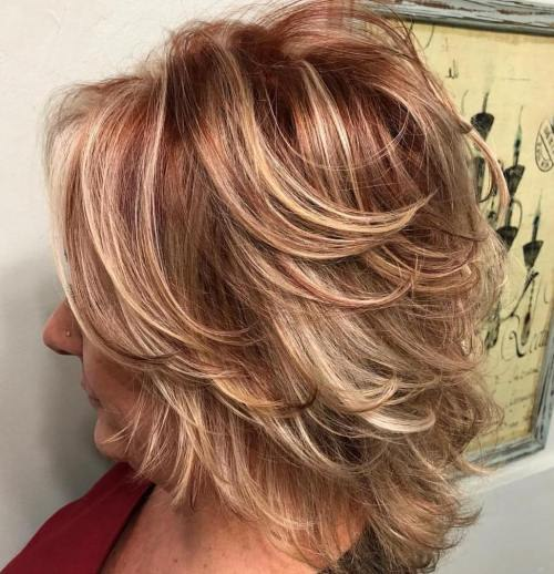 30 respectable yet modern hairstyles for women over 50