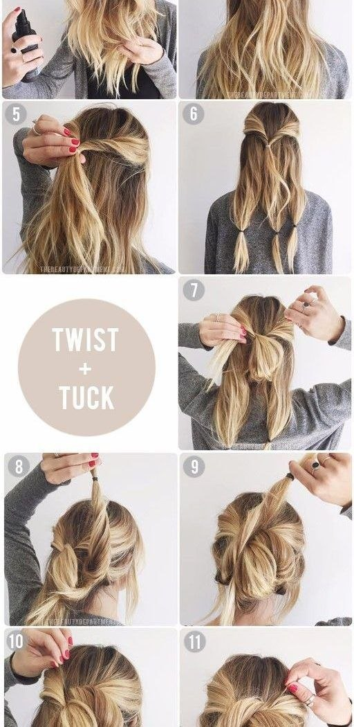 Quick And Easy Hairstyle For Medium Hair Best Collection Quick And Easy Updos For Medium Imposing Diy Hair Updo … Diy … Of Lovely Quick and Easy Hairstyle for Medium Hair