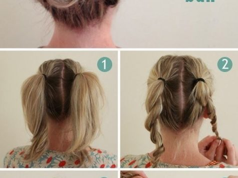 Quick and Easy Hairstyle for Medium Hair New 21 Easy Hairstyles You Can Wear to Work - Best Of Pinterest Hair ...