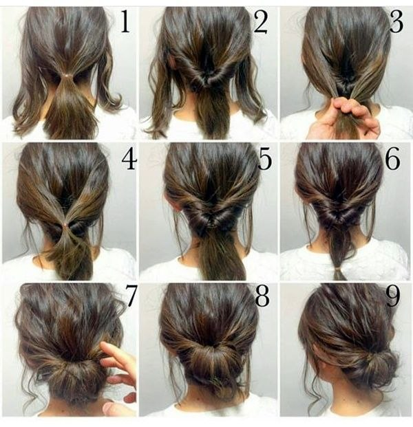 Quick And Easy Hairstyle For Medium Hair The Best Quick Hairstyle Tutorials For Office Women 33 Long Hair Styles … Of Lovely Quick and Easy Hairstyle for Medium Hair