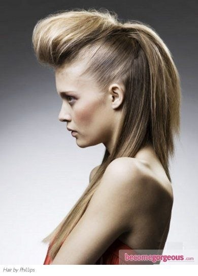 Quiff Hairstyle Female Long Hair Inspirational Fabulous Long Quiff Hair Style Long Hair Styles, Quiff ...