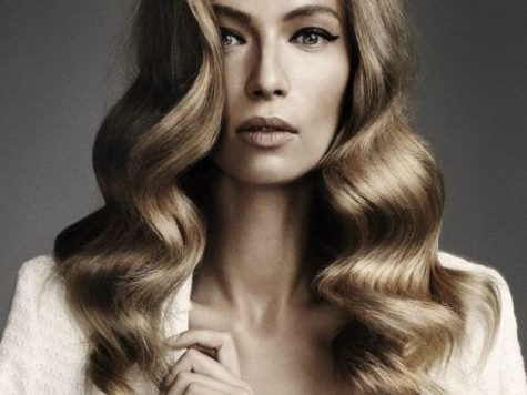 Retro Long Hairstyle Best Collection Wavy Curls. Hair Styles, Long Hair Styles, Long Hair Waves