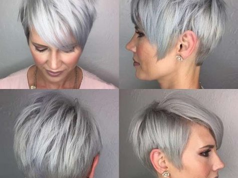 Short Hairstyle Grey Hair Inspirational Pin On Hair Styles