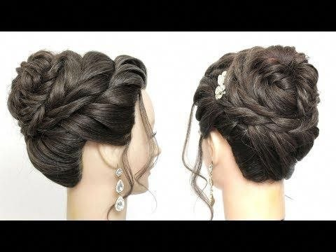 Short Hairstyle Juda Elegant New And Easy Juda Hairstyle For Girls With Long Hair. Simple Updo … Of New Short Hairstyle Juda
