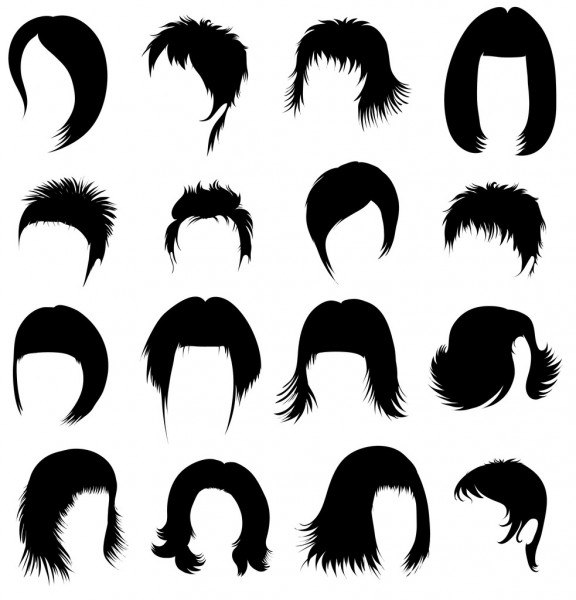 Short Hairstyle Vector Best Of 6,560 Short Haircut Vector Images - Free & Royalty-free Short ...