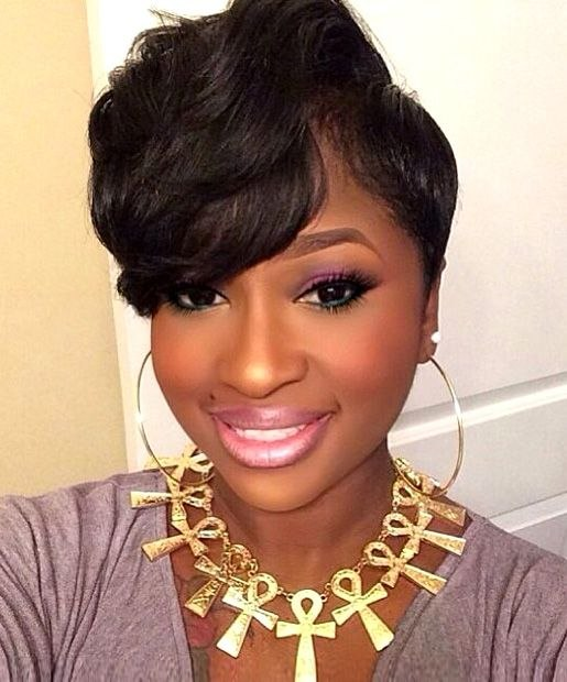 Short Hairstyles for African American Women Lovely Pin On Oooh Girl, I Like Your Hair!