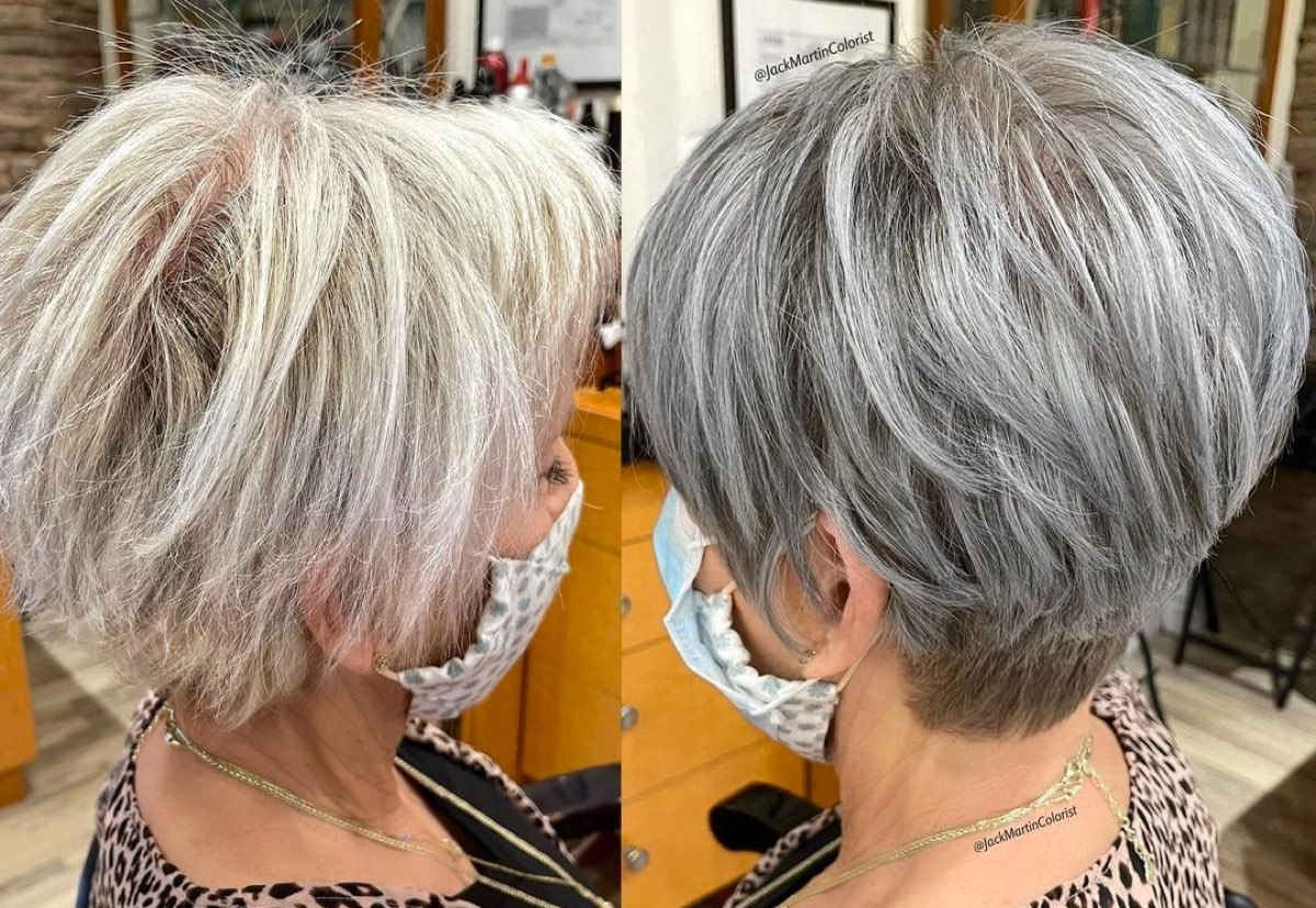 haircuts for older women with thin hairml