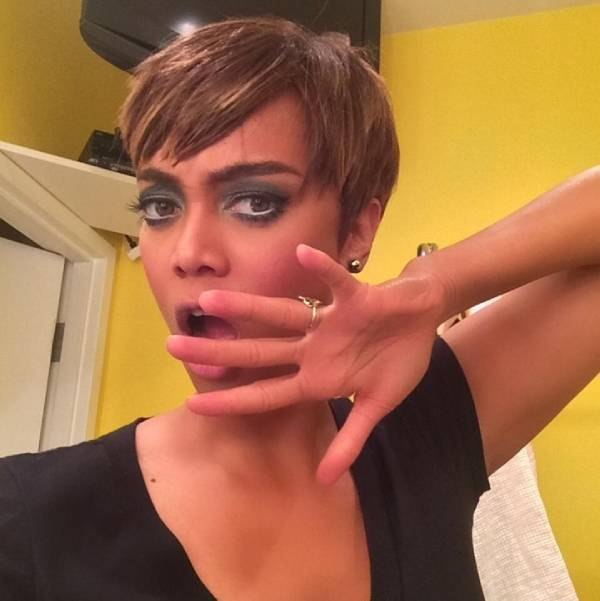 tyra banks pixie cut hair style short transformation makeover