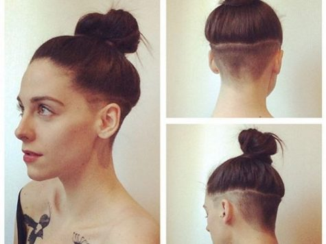 Undercut Girl Long Hairstyle Best Collection 40 Women's Undercut Hairstyles to Make A Real Statement - the ...