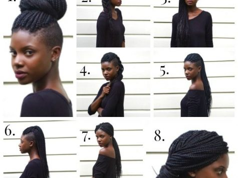 Undercut Hairstyle with Braids Inspirational 10 Hair Styles for An Undercut Box Braids Shaved Sides, Natural ...