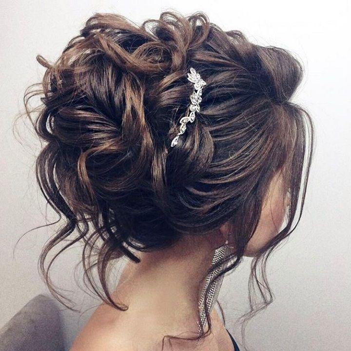 beautiful updo wedding hairstyle for long hair perfect for any wedding venue
