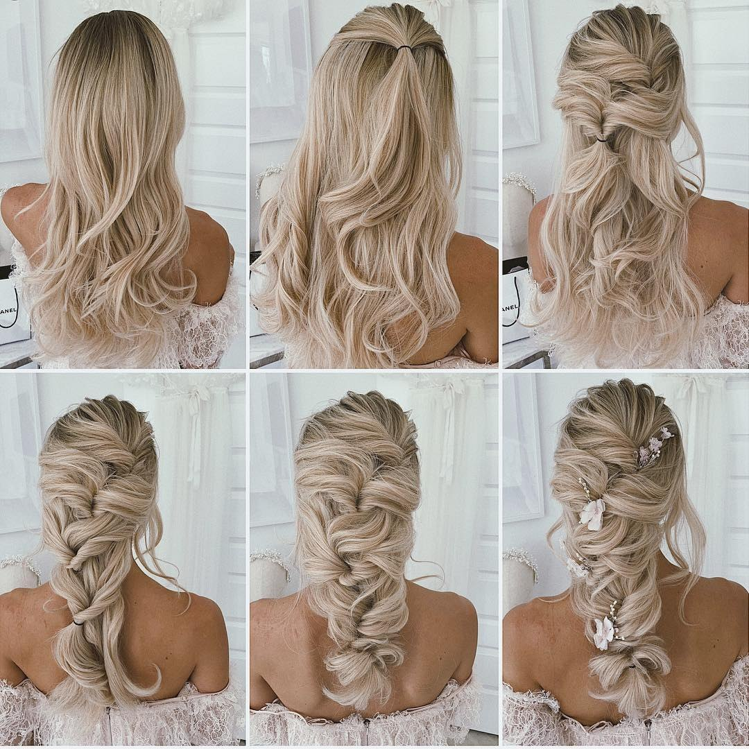 diy hairstyle tutorials for wedding and prom