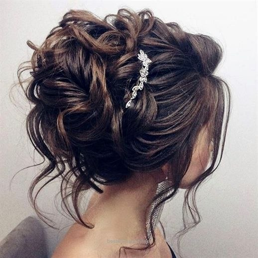 awesome beautiful updo wedding hairstyle for long hair