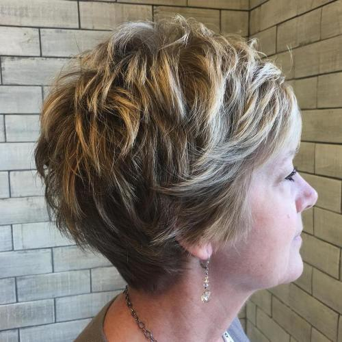 15 classy simple short hairstyles for women over 50