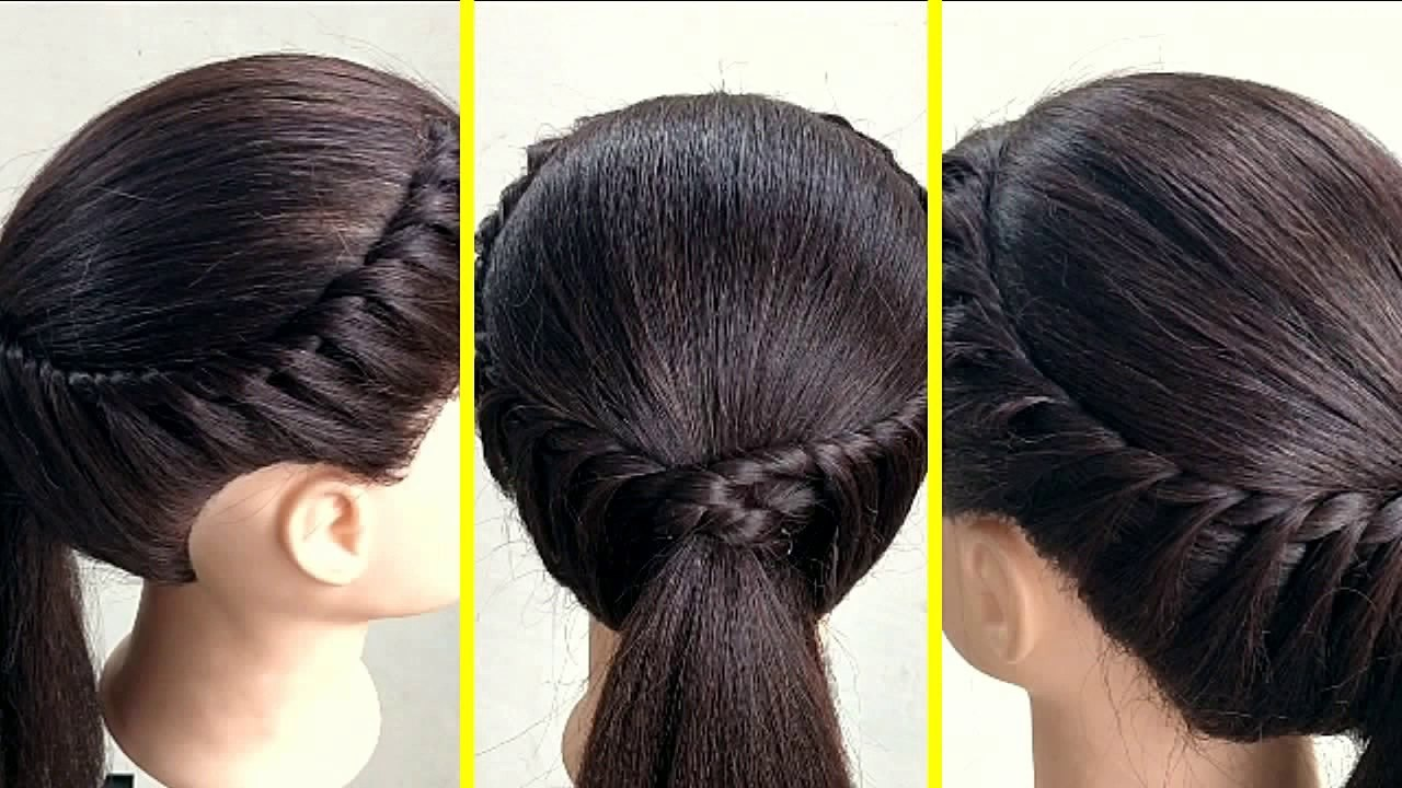 Daily Use Hairstyle for Long Hair Beautiful Simple Easy Hairstyle for Daily Use Everyday Hairstyles for Girl