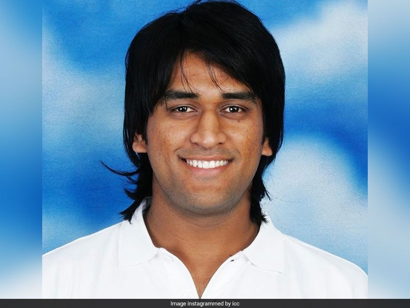 iccs flashback friday photo of ms dhoni sends fans down memory lane