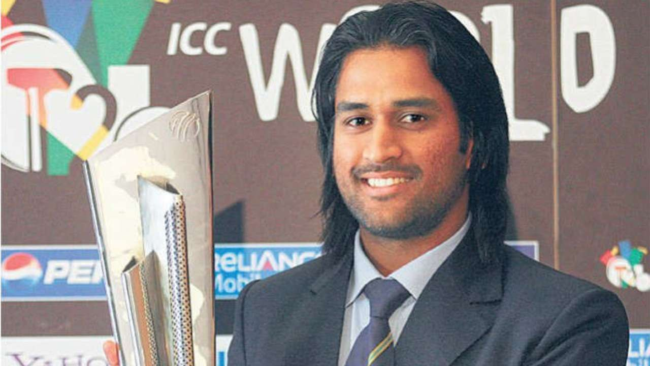 photo gallery in pics as ms dhoni debuts the v hawk here s a look at his iconic hairstyles