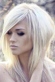 Edgy Long Hairstyle Elegant Blonde Long Shag Hairstyles Best Stuff Haircuts for Medium ...