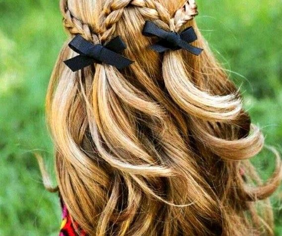 Girly Hairstyles for Long Hair Beautiful 27 Cute and Easy Long Hairstyles for School - Pinmagz Easy ...