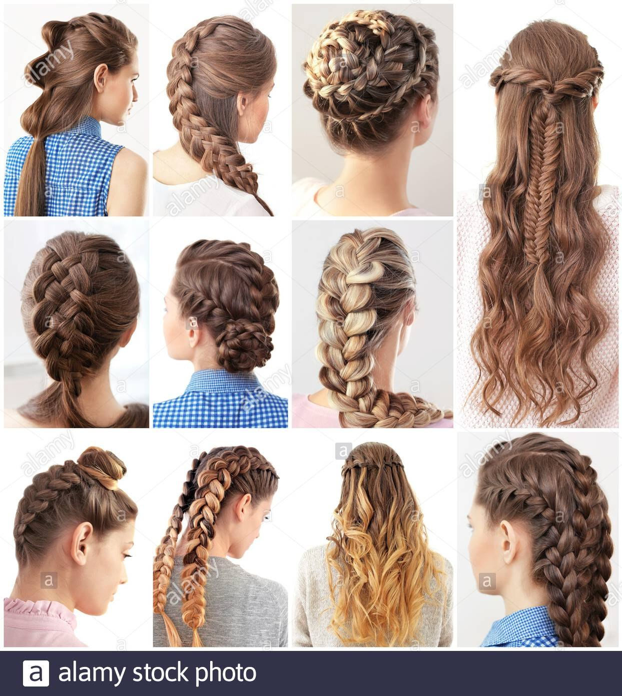 women with different hairstyles image ml