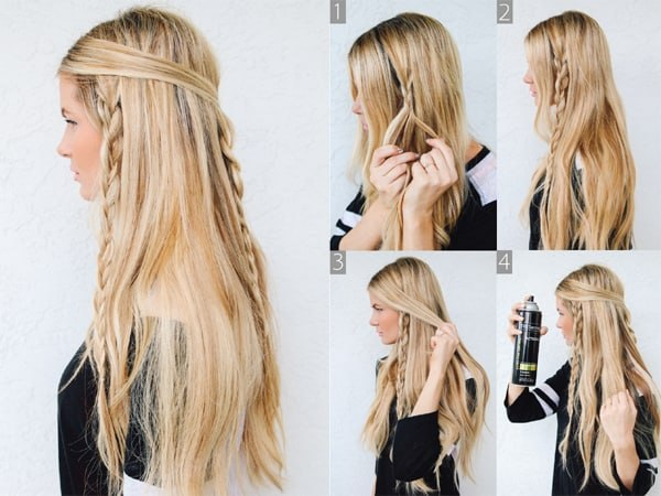 hairstyles for thin faces