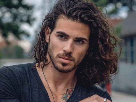 Man Curly Long Hairstyle Best Of Pin On Men's Hairstyle