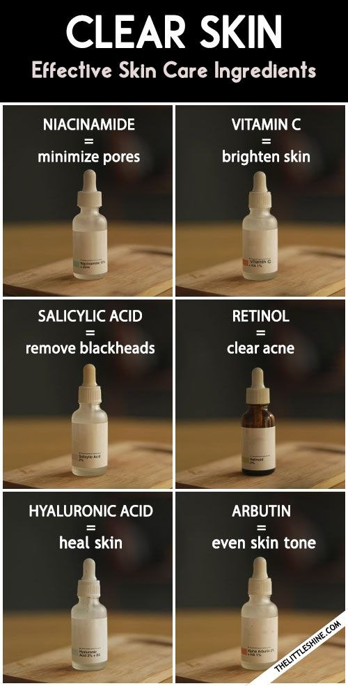 How To Get Clear And Spotless Skin with Safe and Effective Skin Care Ingre nts The Little Shine