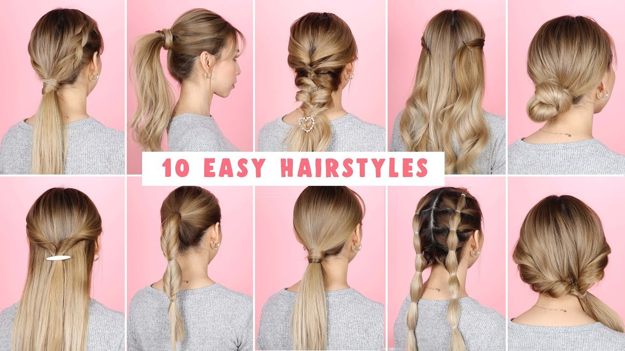 Unique Hairstyle for Long Hair Best Collection 10 Easy Hairstyles for Long Hair