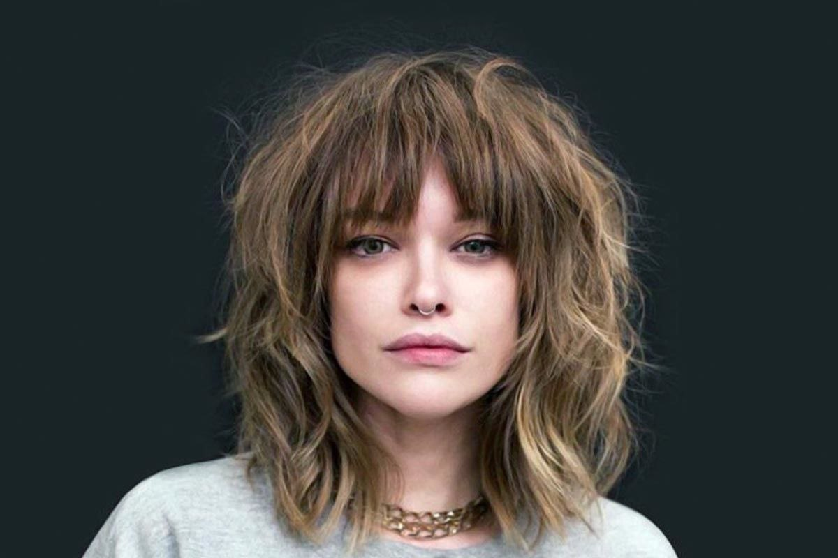 hairstyles with bangs hair type